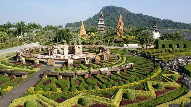 Jard n tropical nong nooch tailandia - Los jardines de lola ...