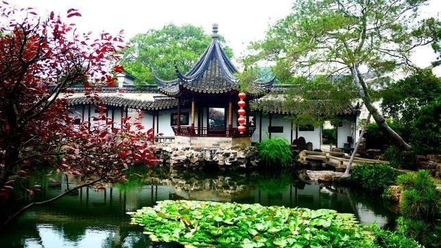 Jardines de Suzhou China EljardindemaruylolaesEl Jardn de MaruLola
