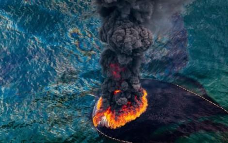Contaminción Golfo de México