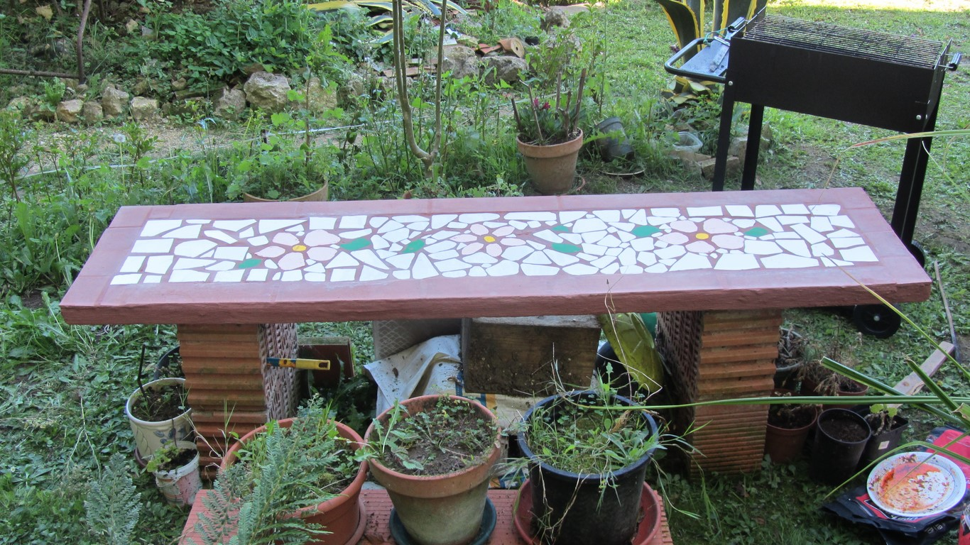 Mi mesa de jard n jard n de - El jardin de lola ...