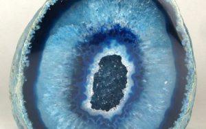 Minerales - Agata-azul