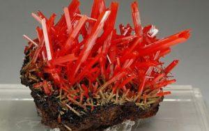 Minerales - Crocoíta