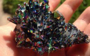 Minerales - Cuarzo-titanio