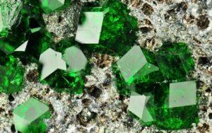 Minerales - Uvarovita