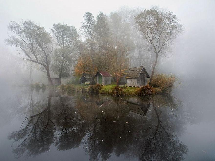 La Villa, Szodliget, Hungría/Gabor Dvornik