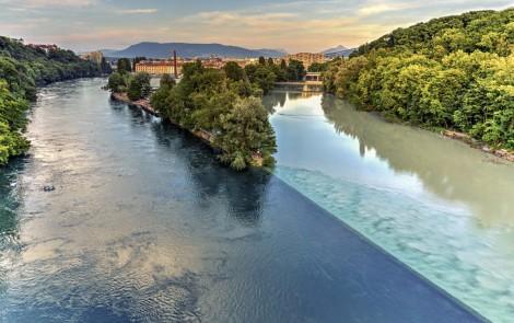 Paisajes terapeuticos - El-rio-Rhone-y-el-Lago-Lehman-en-Genova