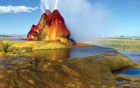 Paisajes terapeuticos - Fly-Geyser-en-Nevada