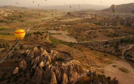 Paisajes terapeuticos - Göreme-National-Park-en-Cappadocia