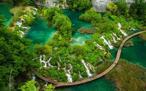 Paisajes terapeuticos - Plitvice-Lakes-National-Park-en-Croacia
