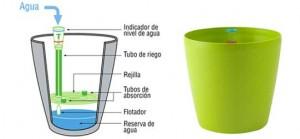 Sistemas de riego - Macetas autorriego